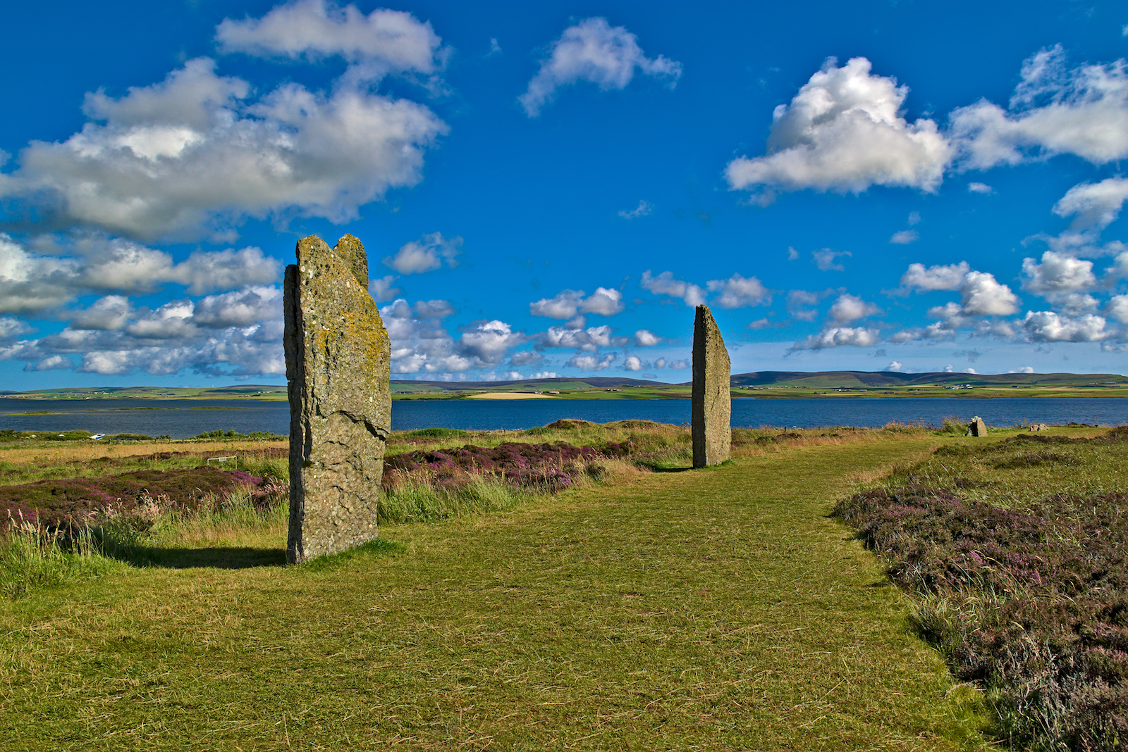 Ring of Brodgar in Orkney, Scotland
