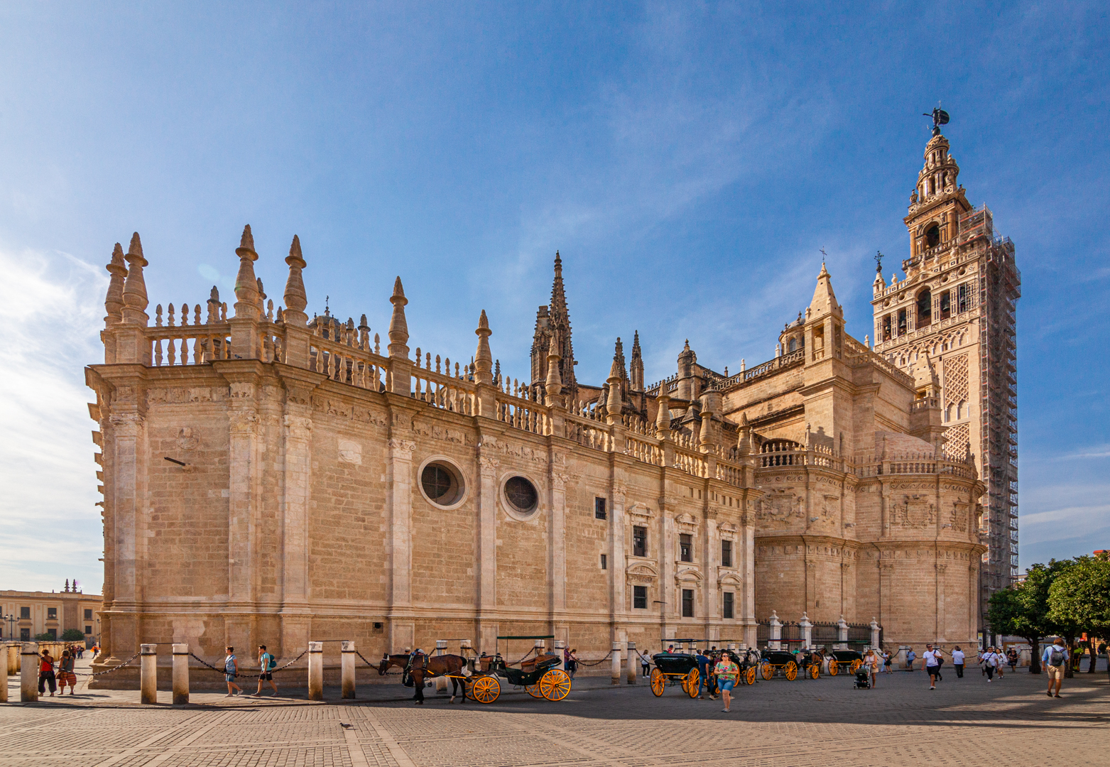 Roman Catholic cathedral in Seville, Spain
