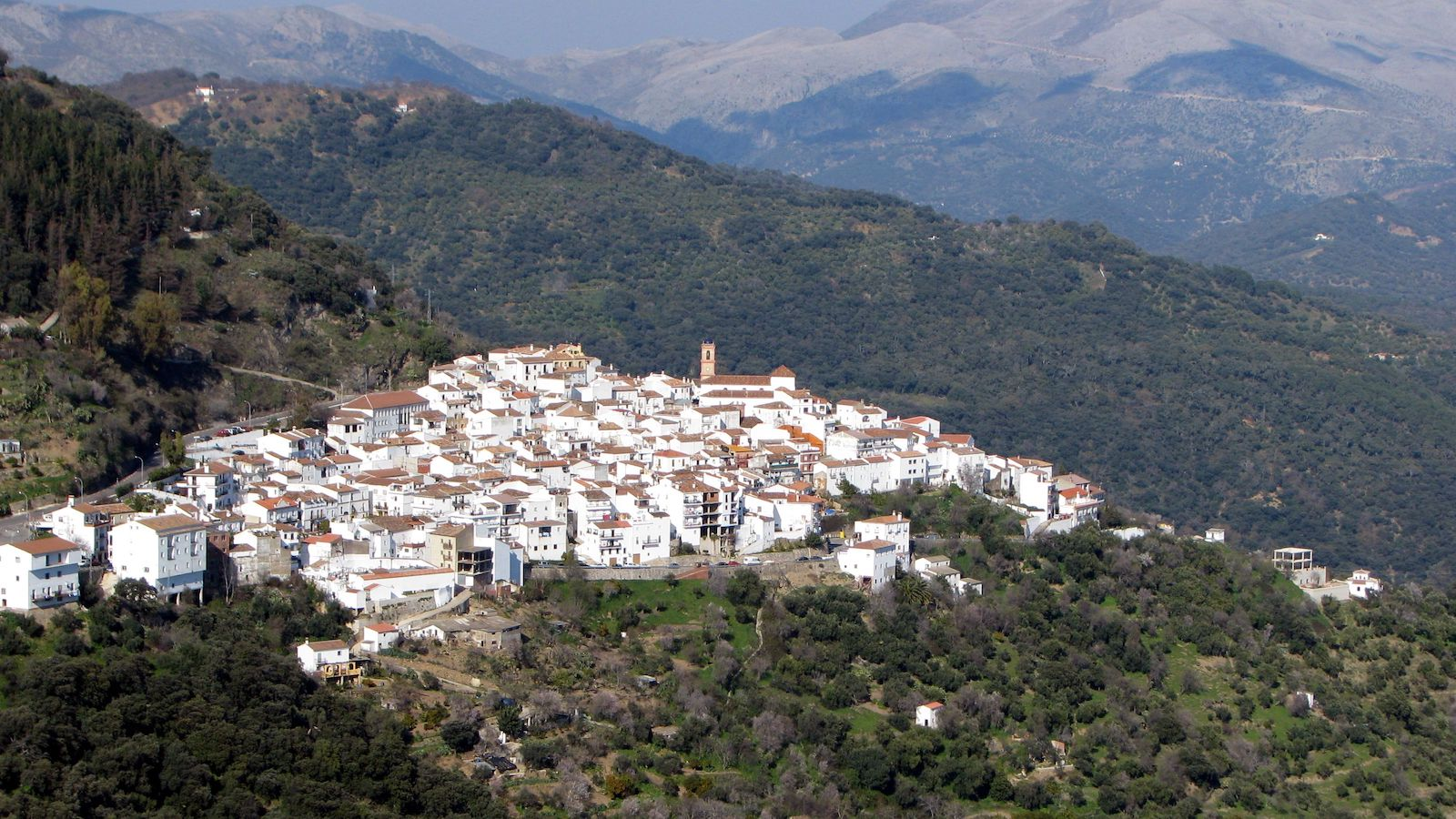 White towns of Andalucia, Spain