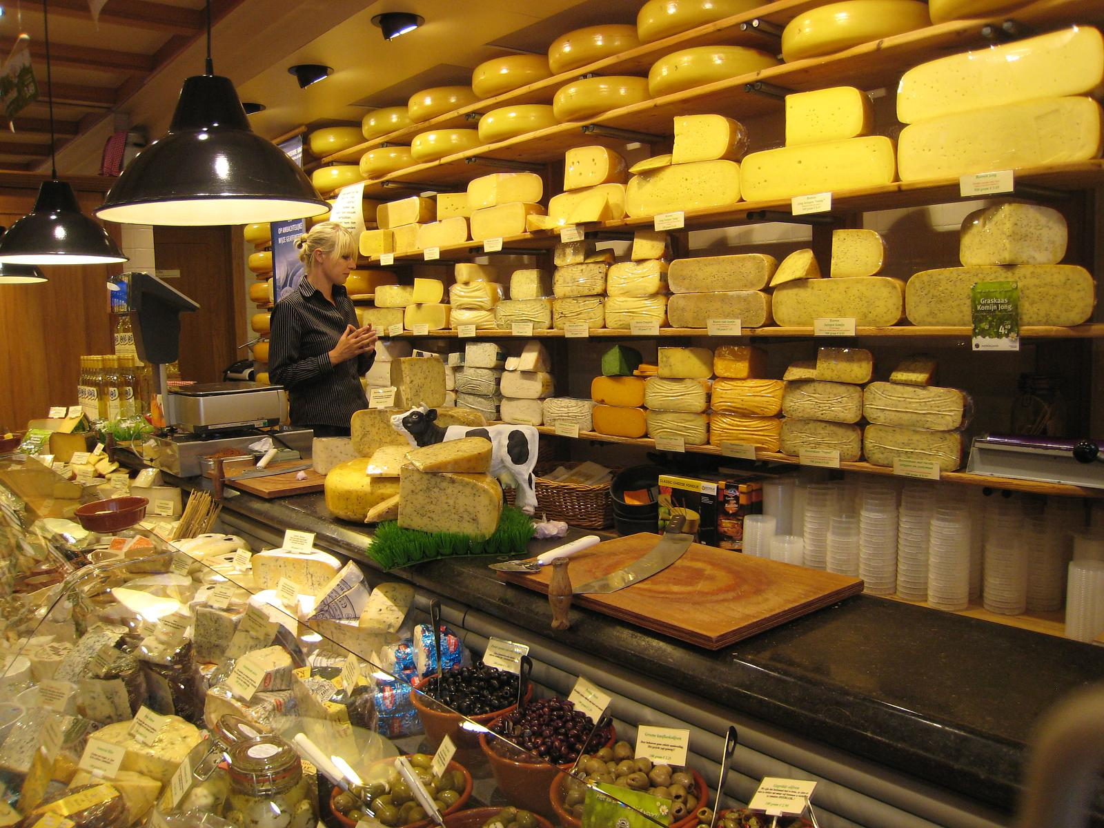 Cheese shop, Netherlands