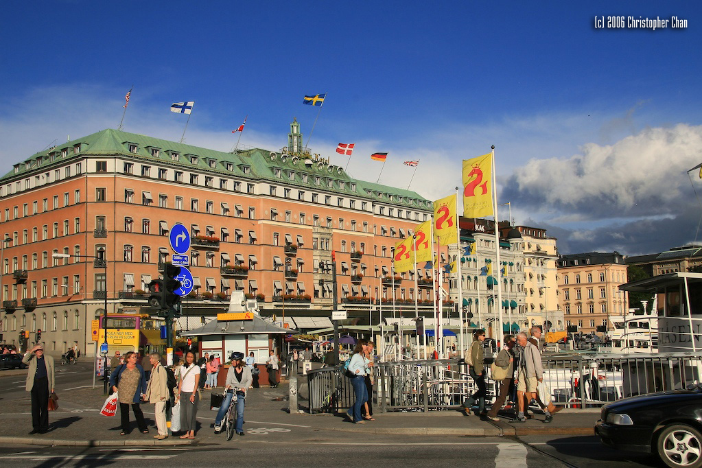 Grand Hotel in Sweden