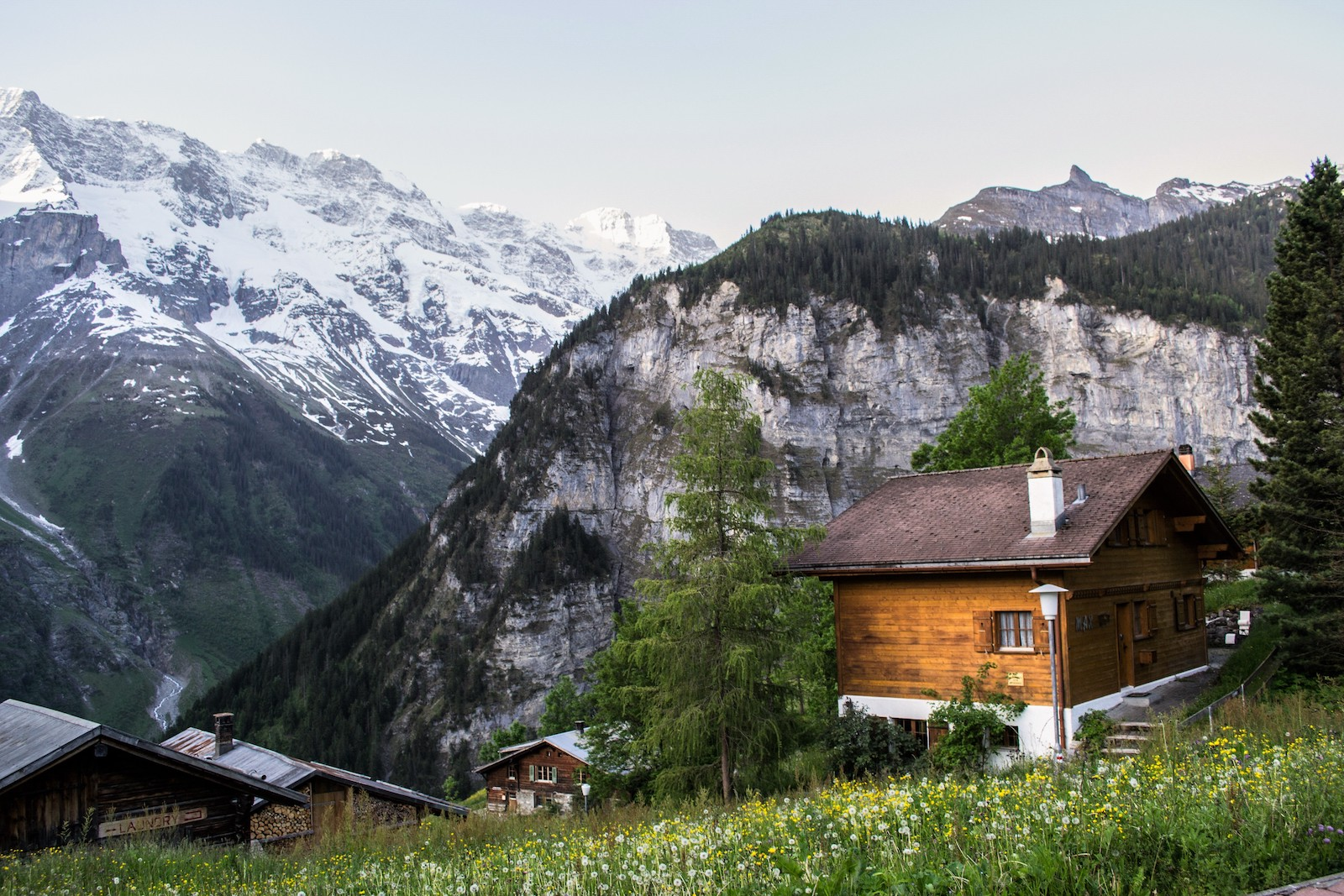Mountain Hostel, Switzerland
