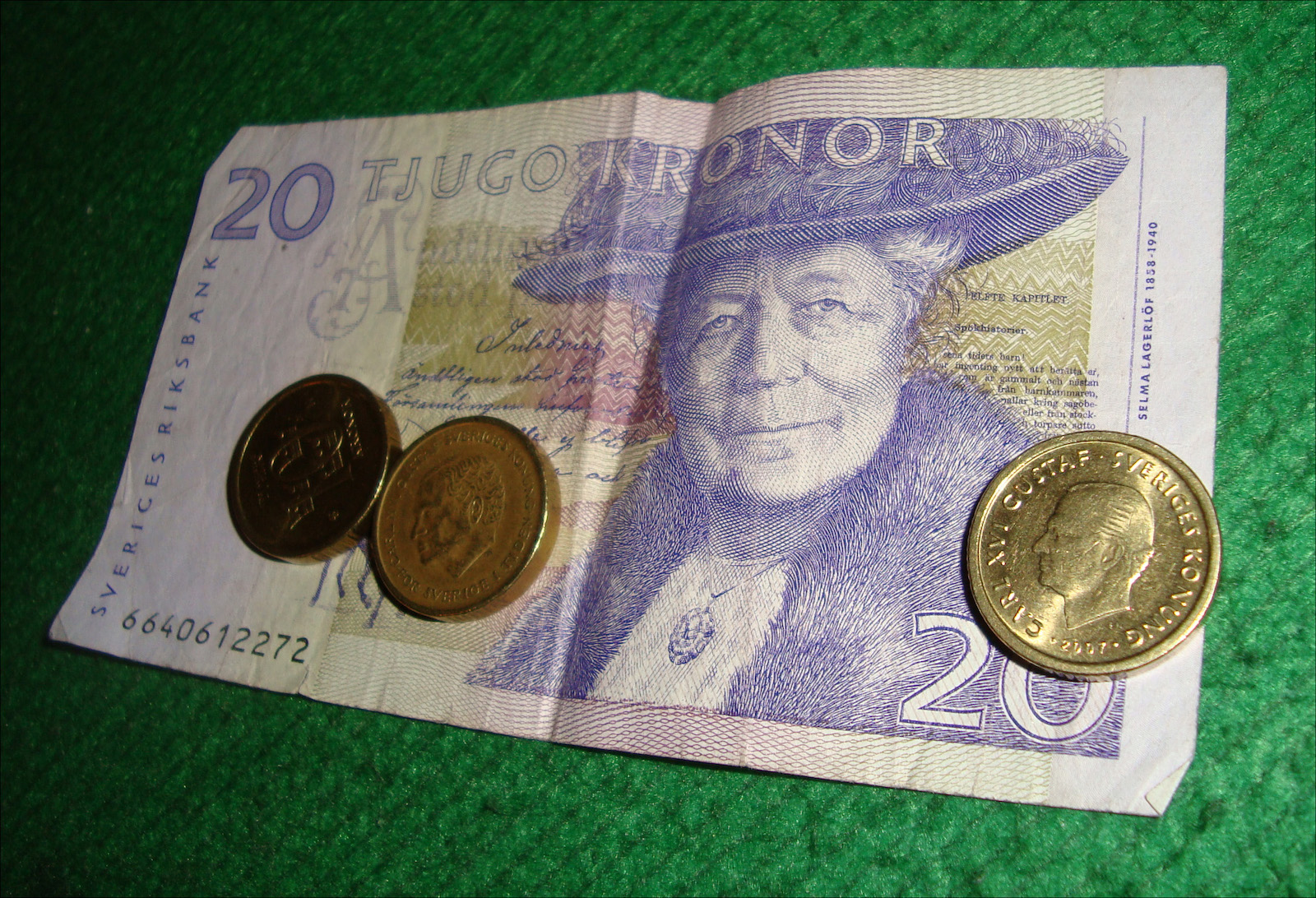Sweden money