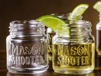 Best Shot Glasses To Buy Mason Jar Shot Glasses Tequila Shots
