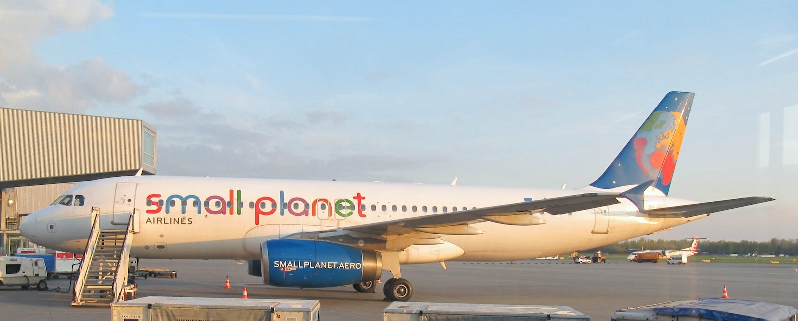 Small Planet Airlines Poland Airbus