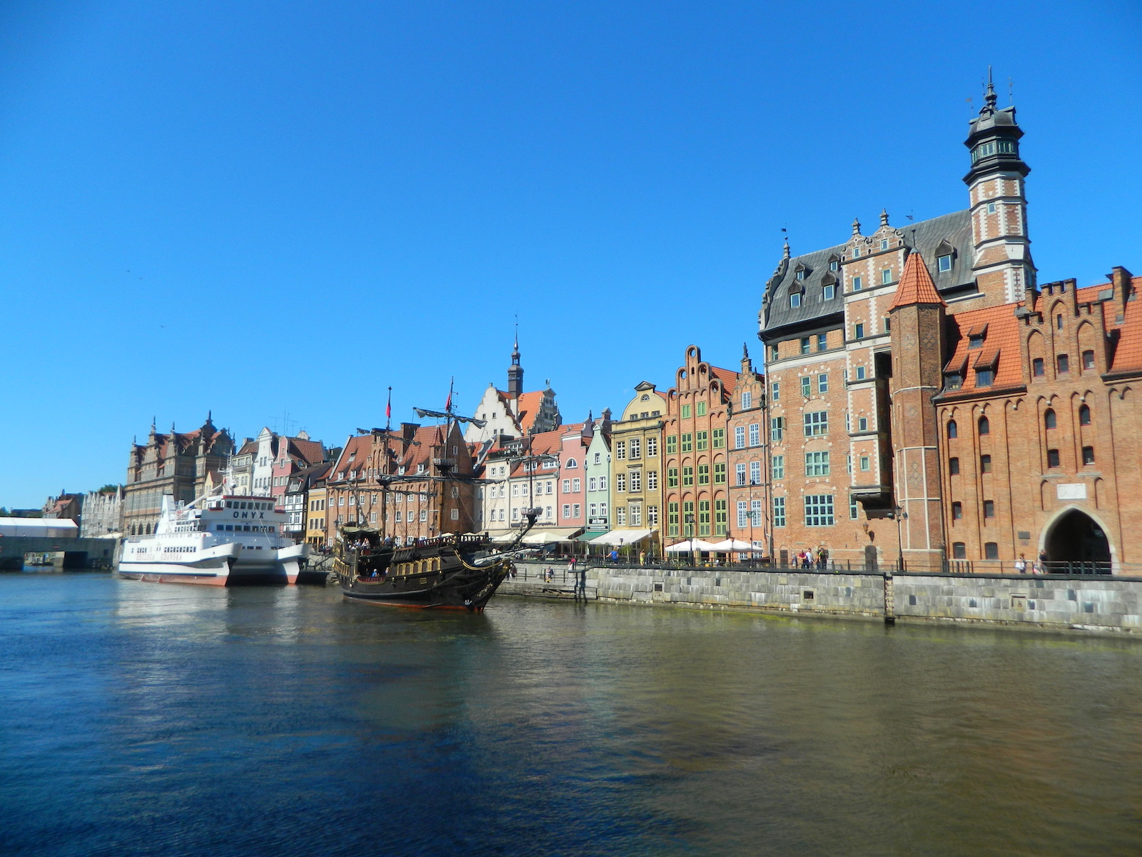 View of Gdańsk, Poland