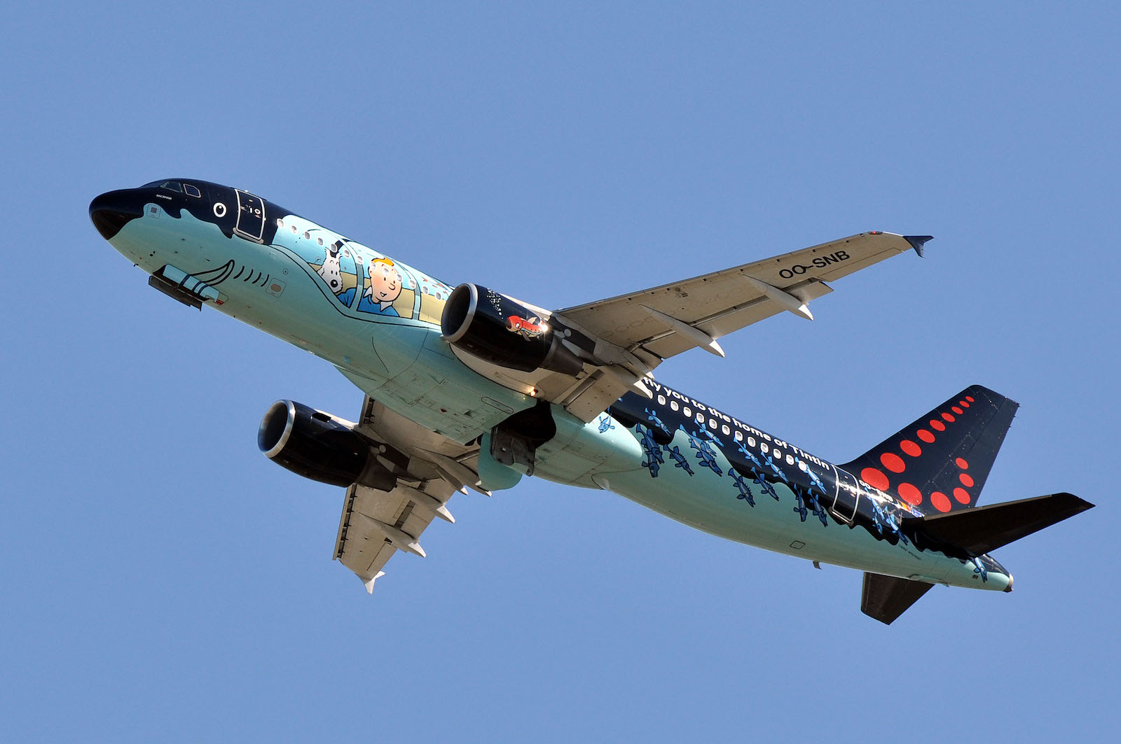 Brussels Airlines of Belgium