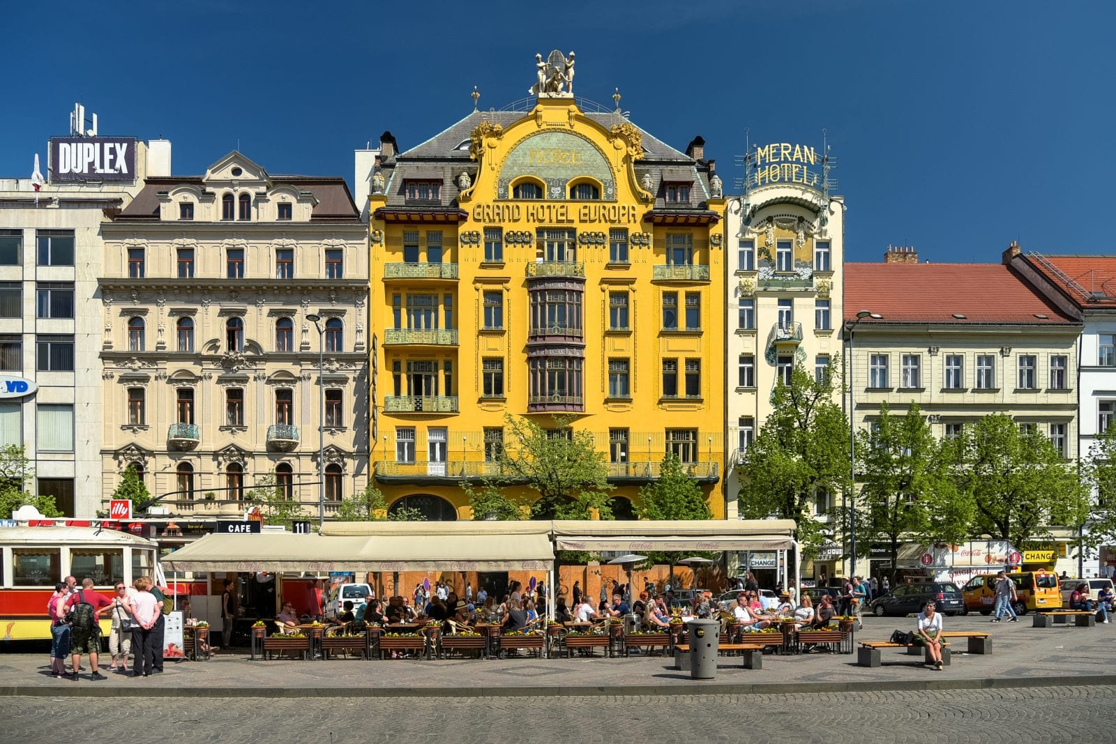 Grand Hotel Europa in Prague, Czech Republic