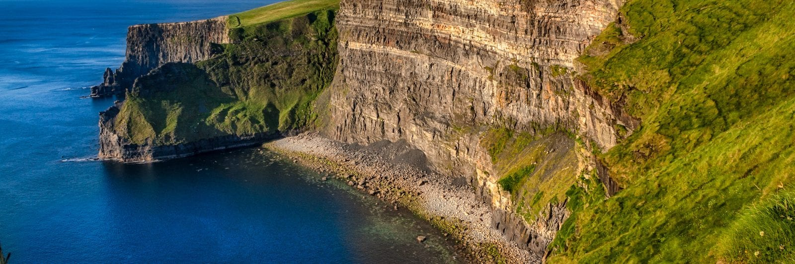 Cliffs by the Cliffs of Moher, Ireland