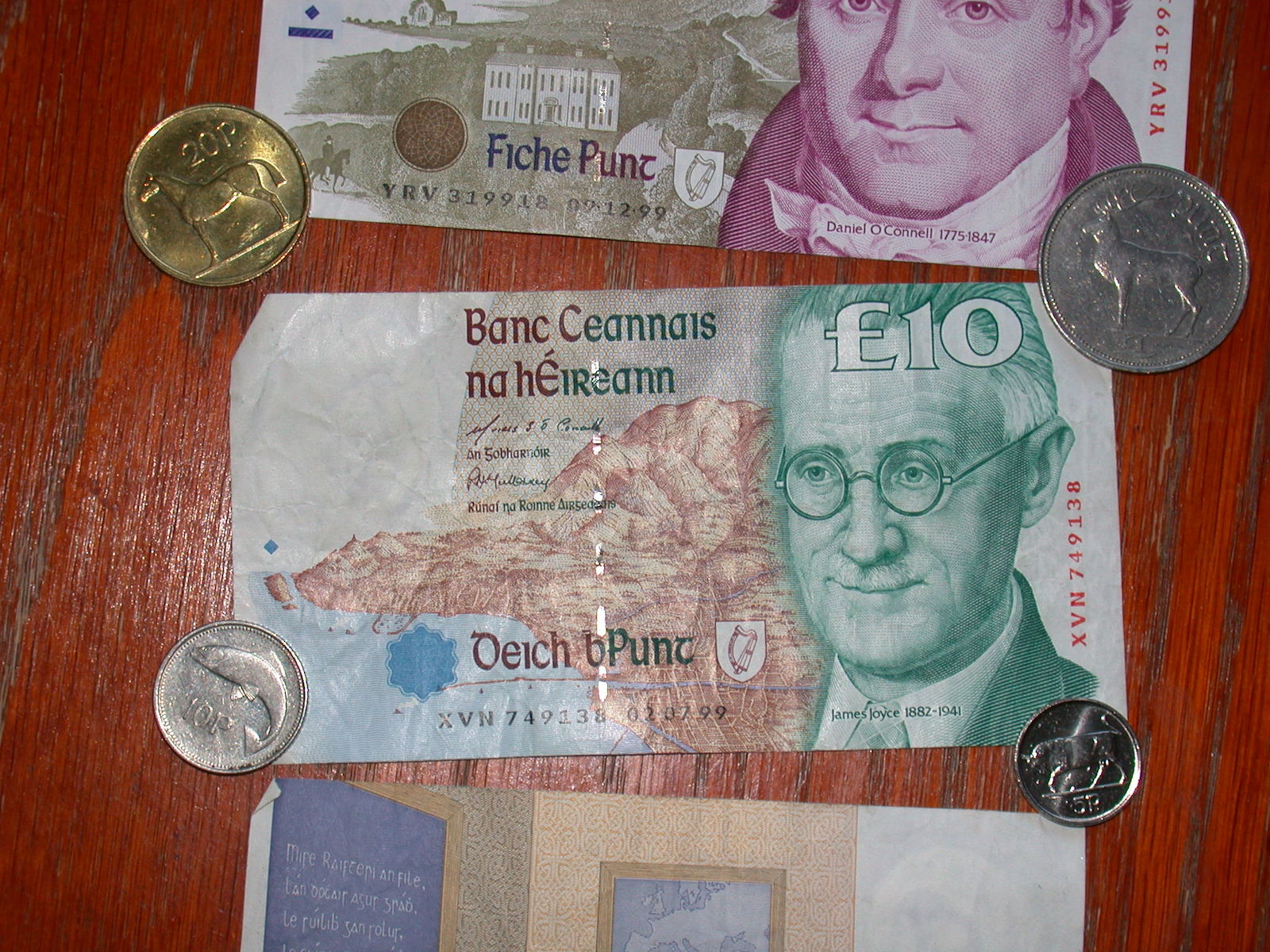 Irish money