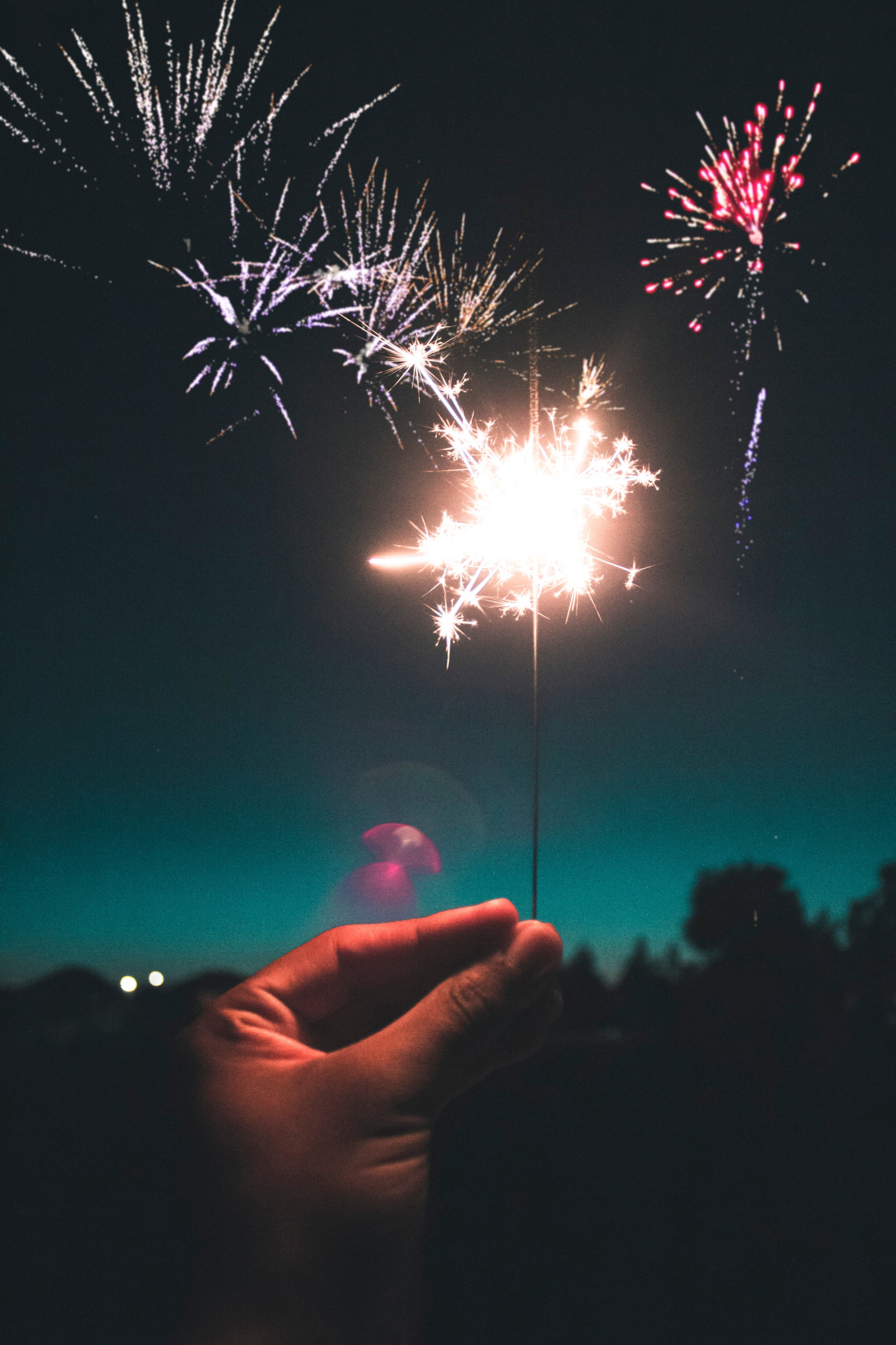 Download Free Photos Fireworks Sky Sparkler