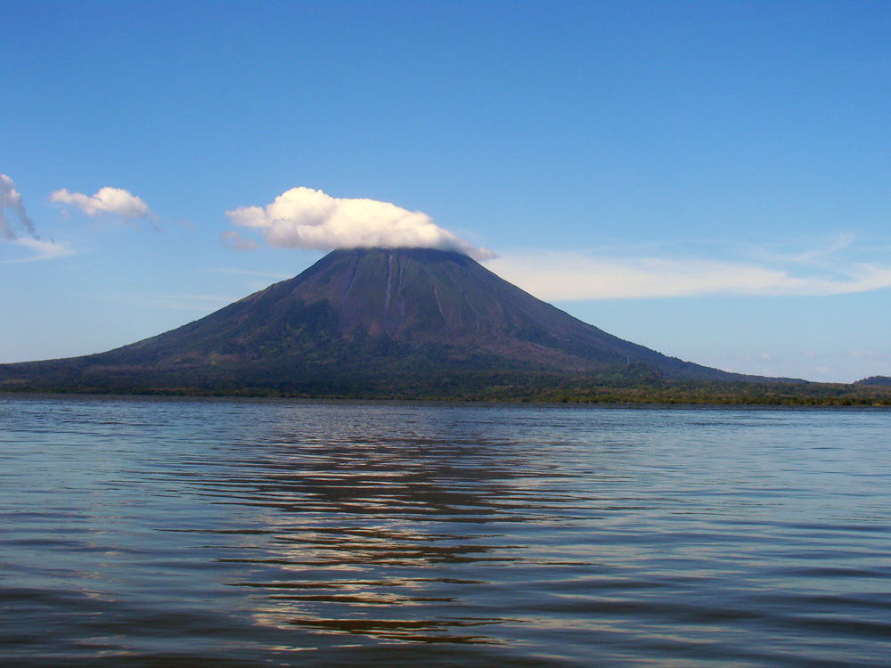 Conception Volcano on Ometepe