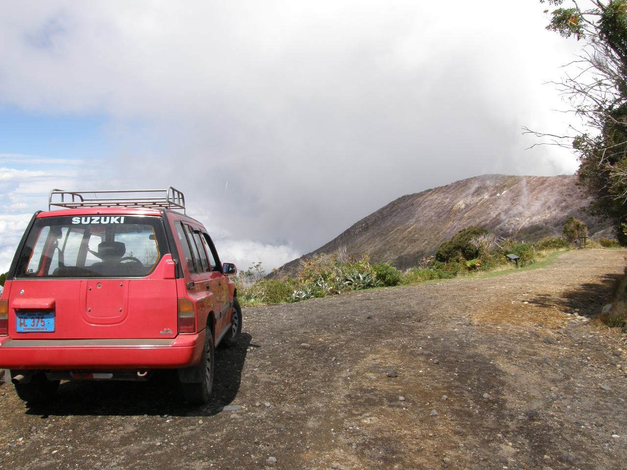 Taxi to the top, Costa Rican