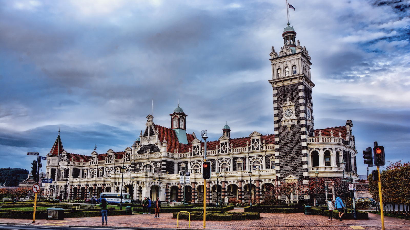 Dunedin railway station- New Zealand