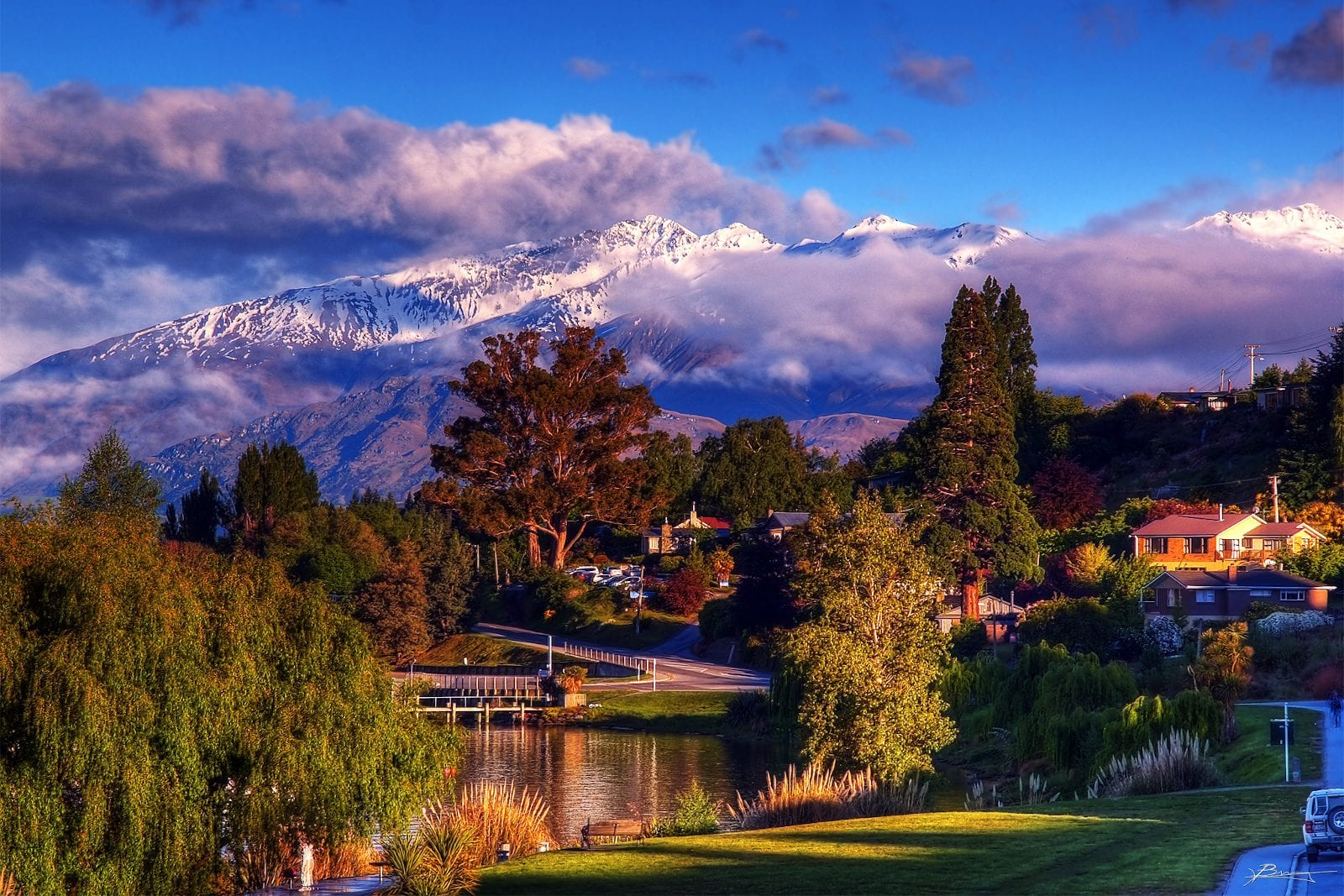 New Zealand Wanaka Morning View