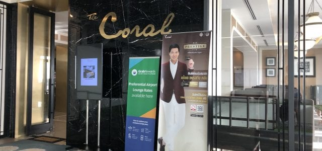 Phuket Airport - Coral Lounge A Entrance
