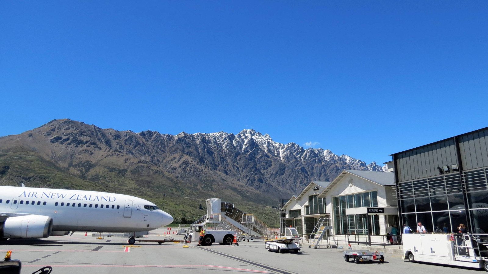 Queenstown Airport, New Zealand