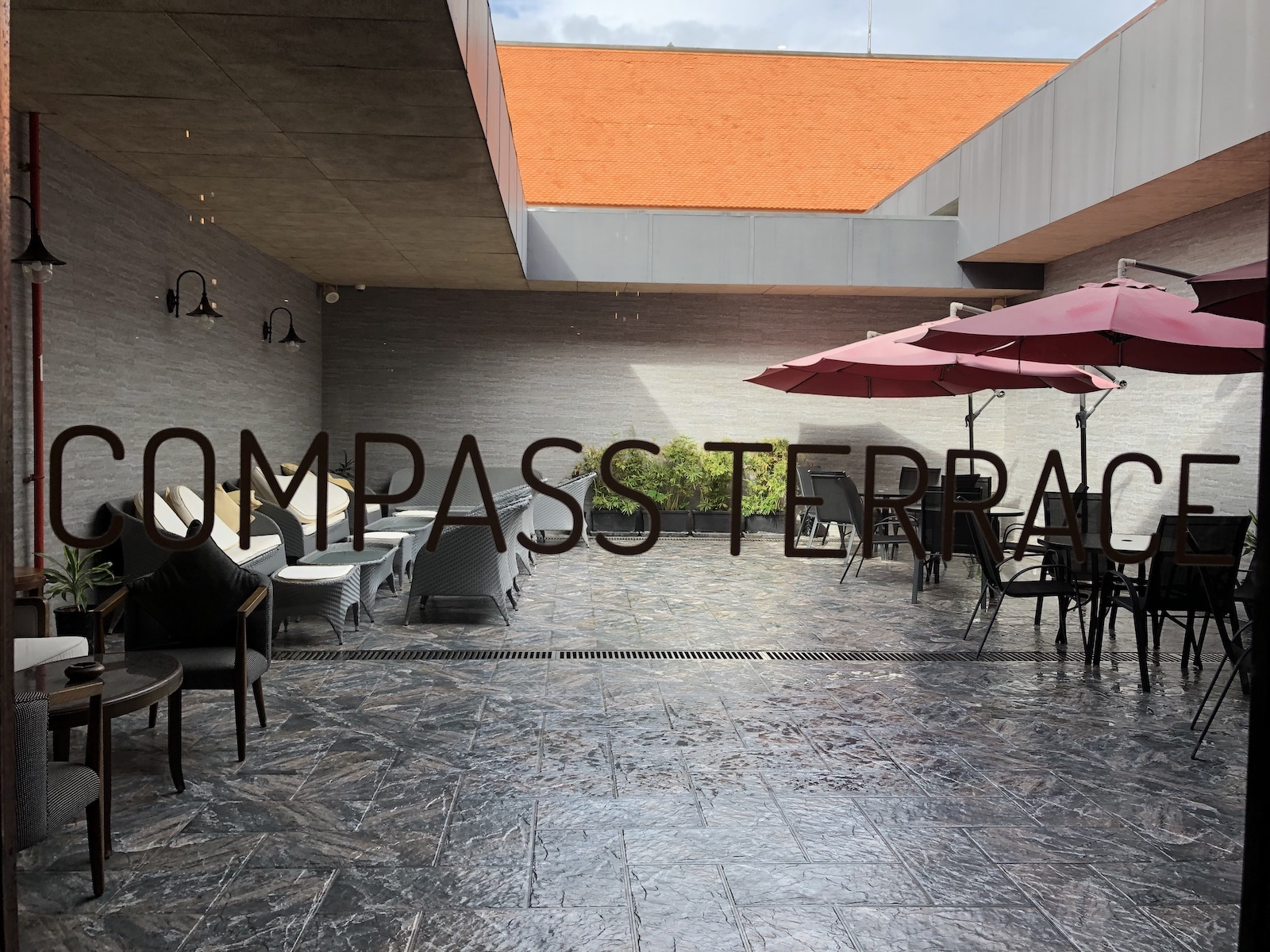 Compass Terrace at Plaza Premium Lounge