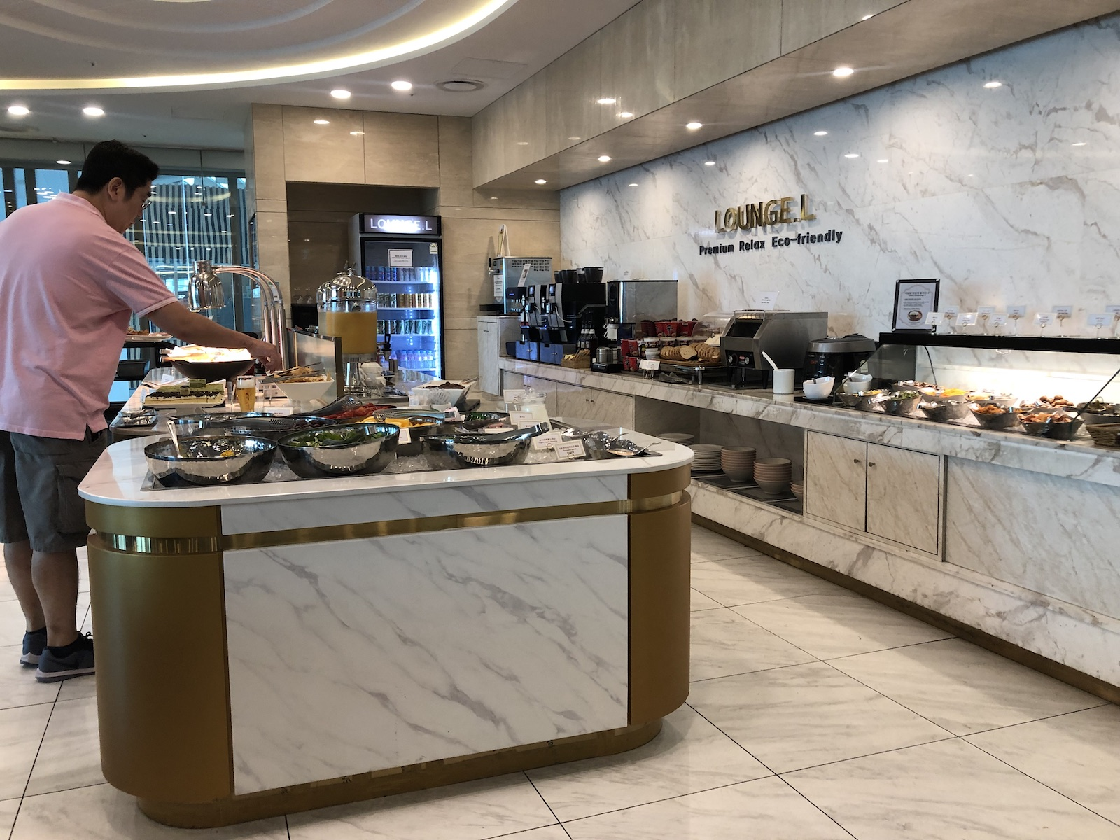 South Korea Seoul Airport Lounge L Dining Choices
