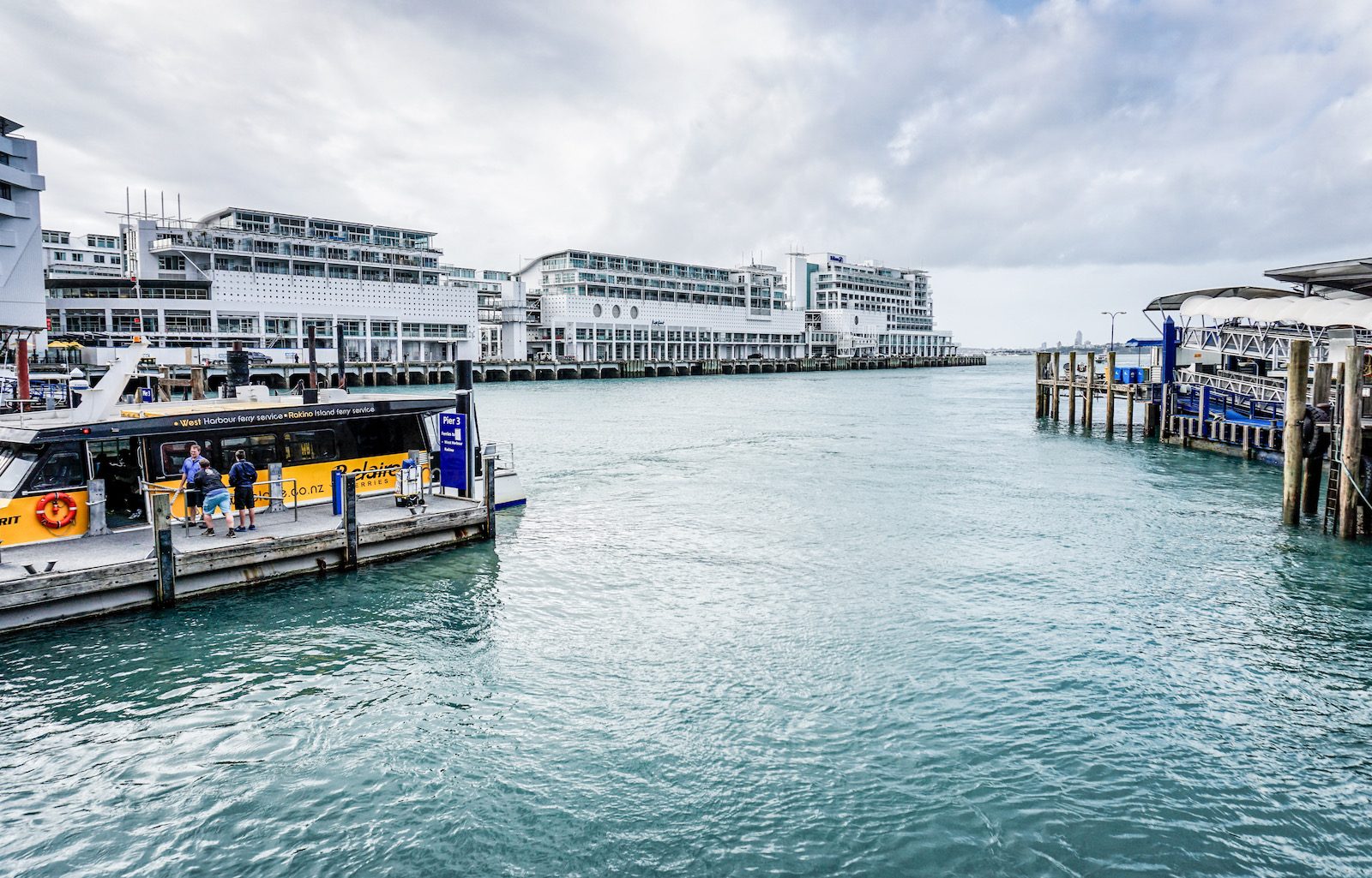 The Hilton Hotel and apartments, Auckland Harbour, New Zealand
