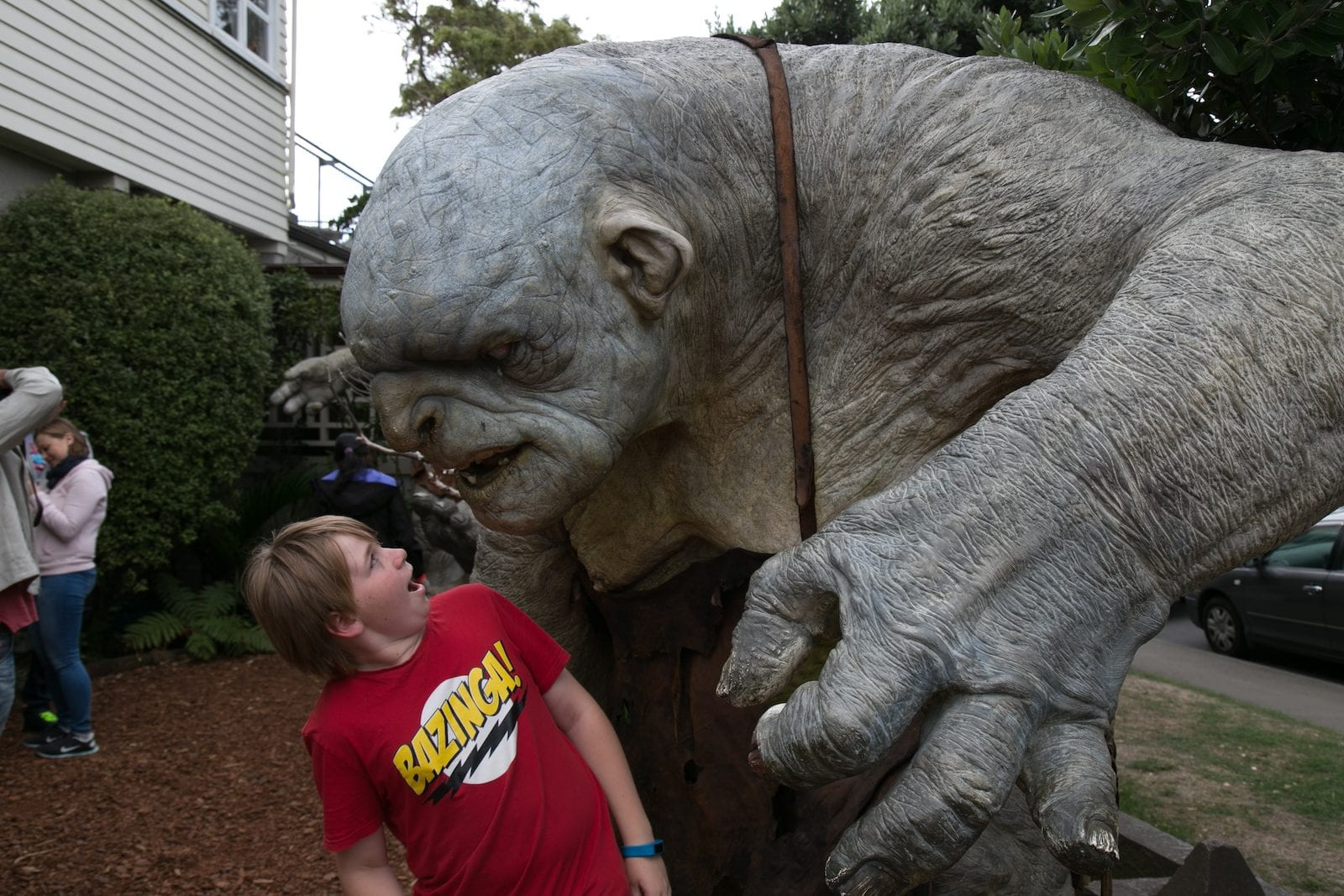 Visiting Weta Workshop- New Zealand