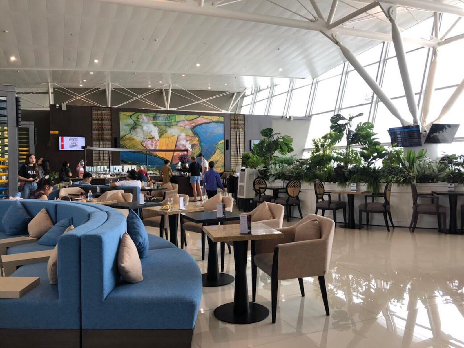 Furniture of Sông Hồng Business Lounge, Noi Bai International Airport