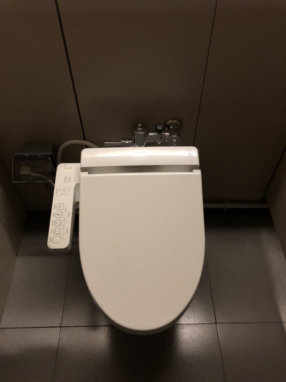 Toilet at Sông Hồng Business Lounge, Noi Bai International Airport