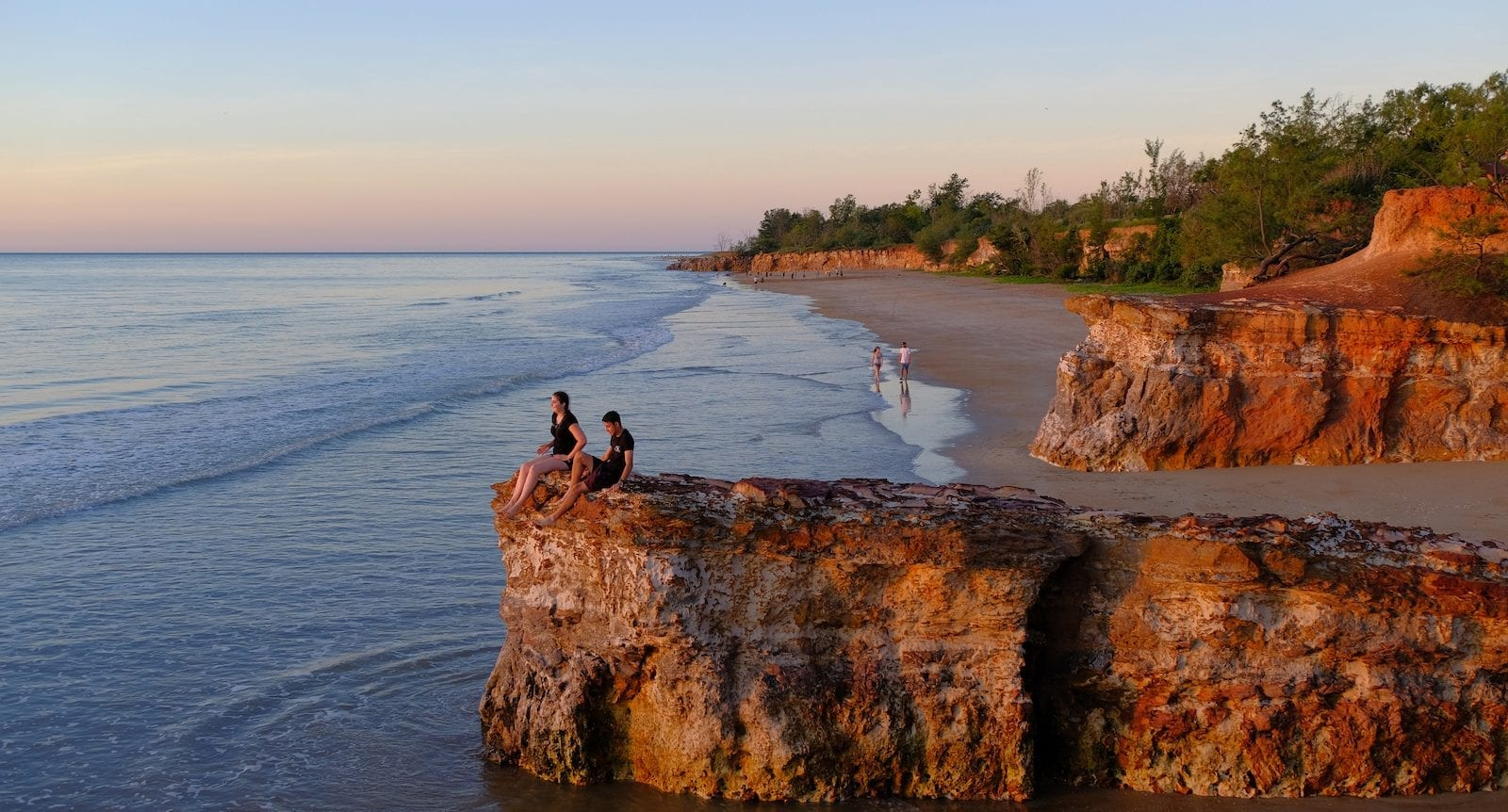 Sunset watchers - Casuarina Beach, Darwin, Australia