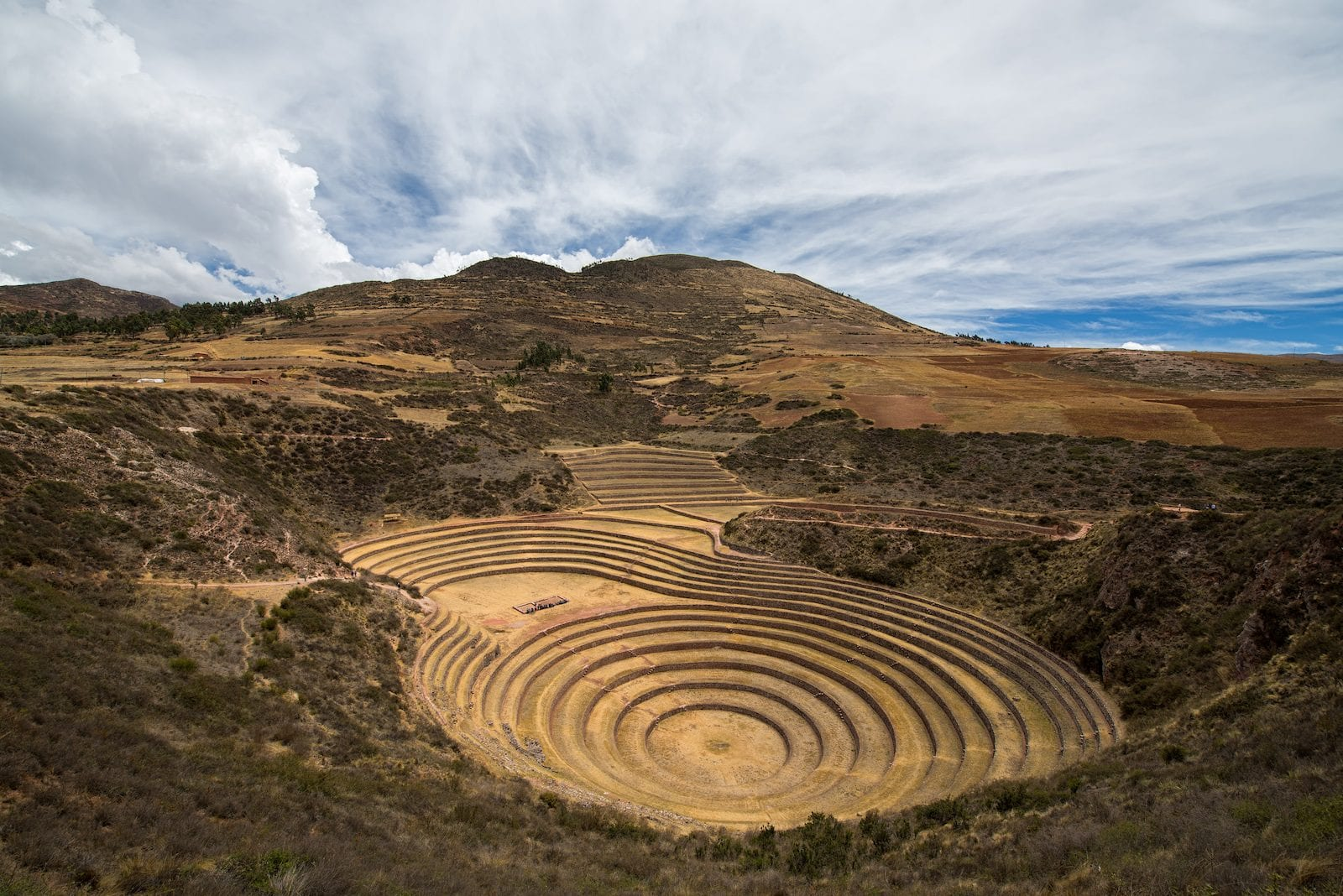 The Mysterious Moray Agricultural Terraces of the Incas- Peru