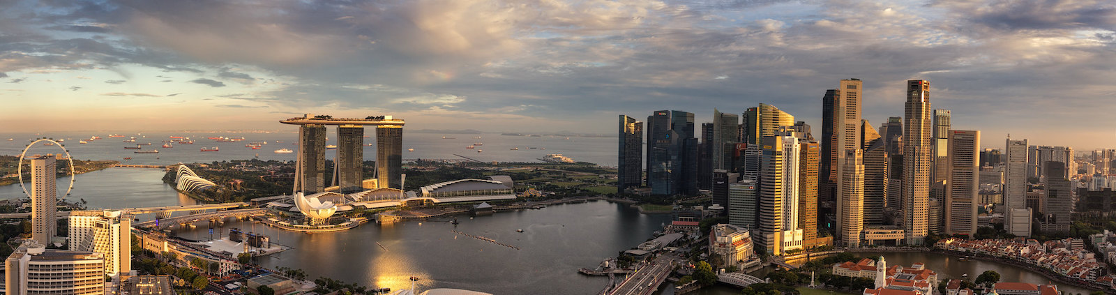 Marina Bay, Financial District and Singapore River