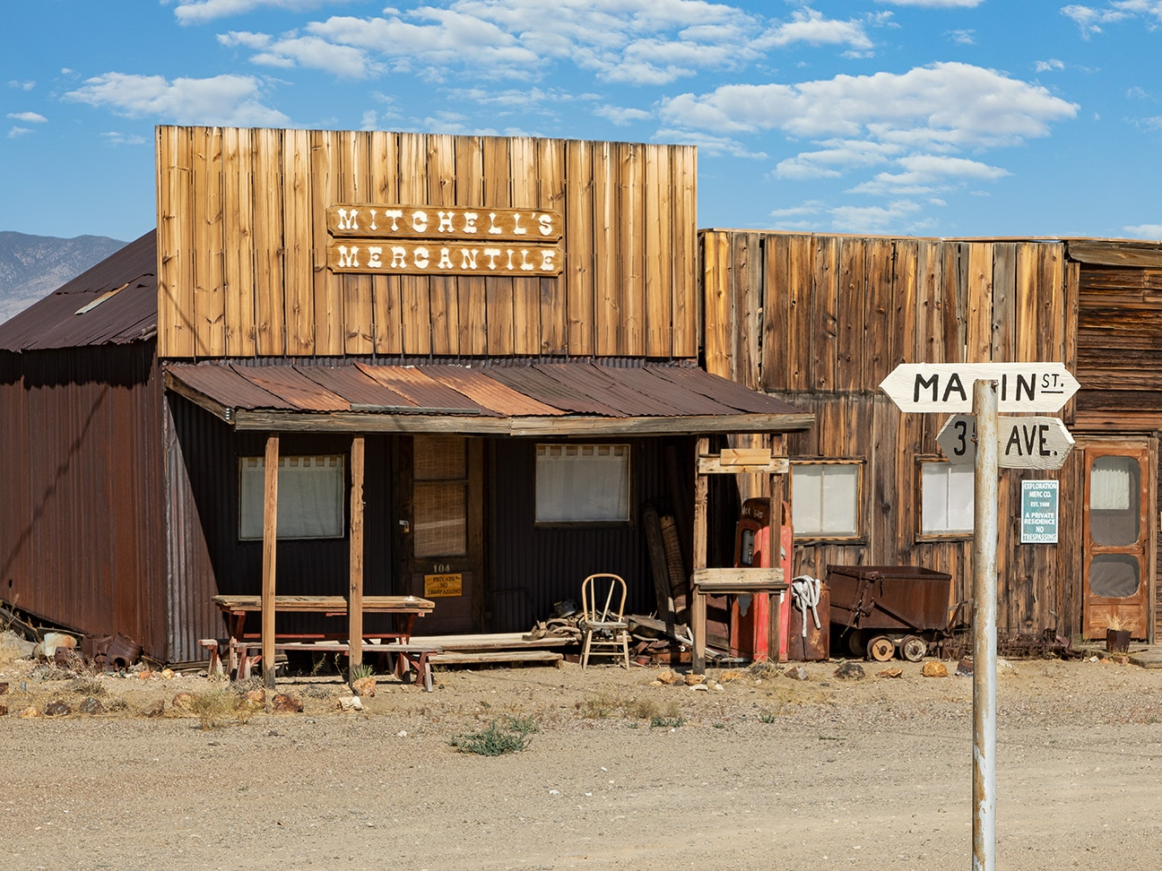 Gold Point Ghost Town Nevada