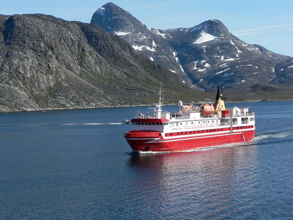 Ferries in Greenland