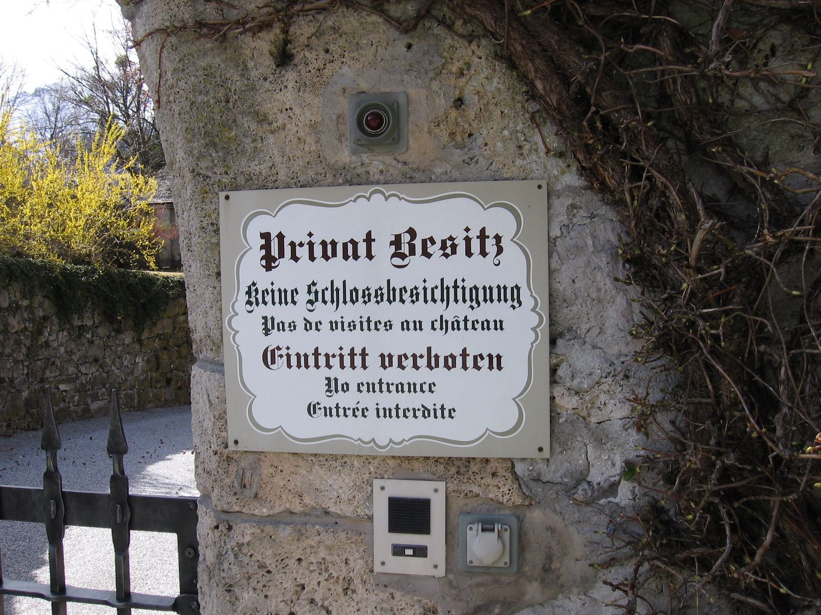 Liechtenstein sign
