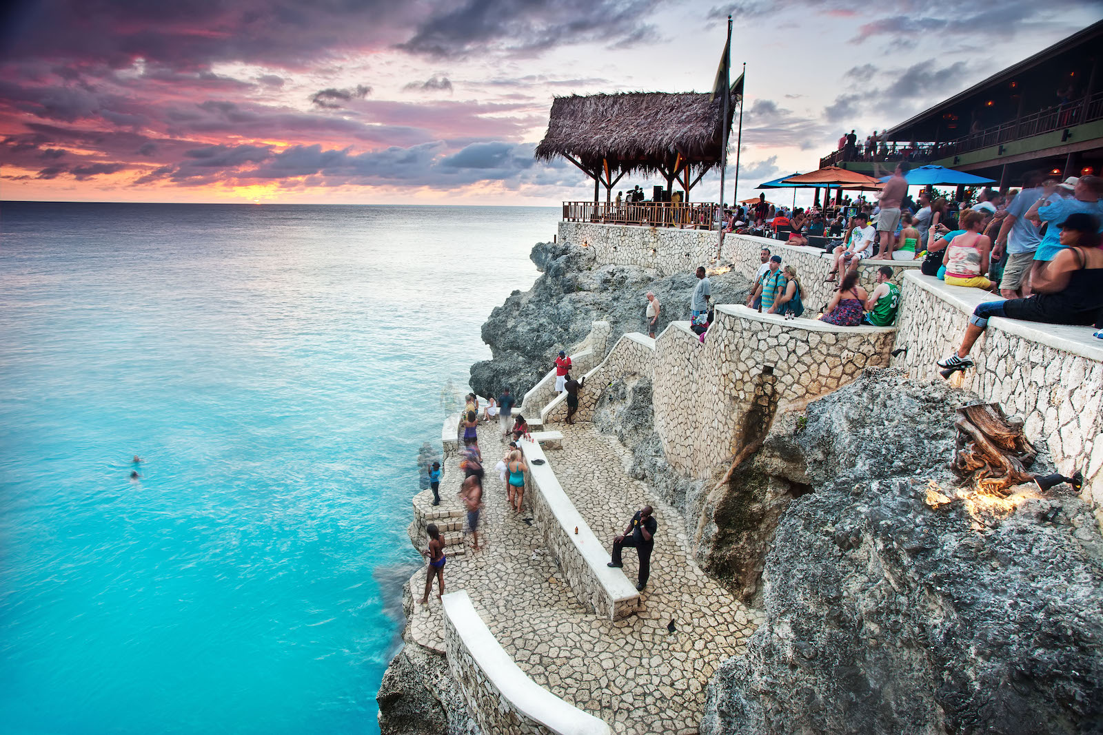 Ricks Cafe Sunset, Jamaica