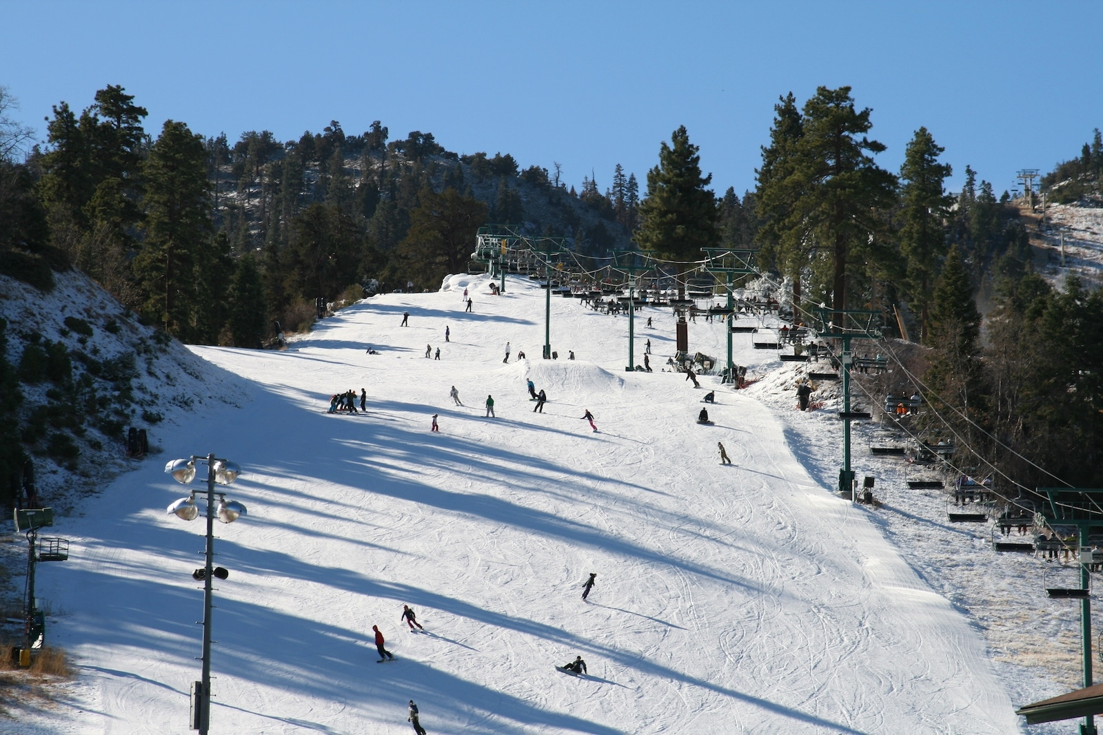 Big Bear Mountain Ski Resort, CA