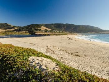 Carmel River State Beach in North California
