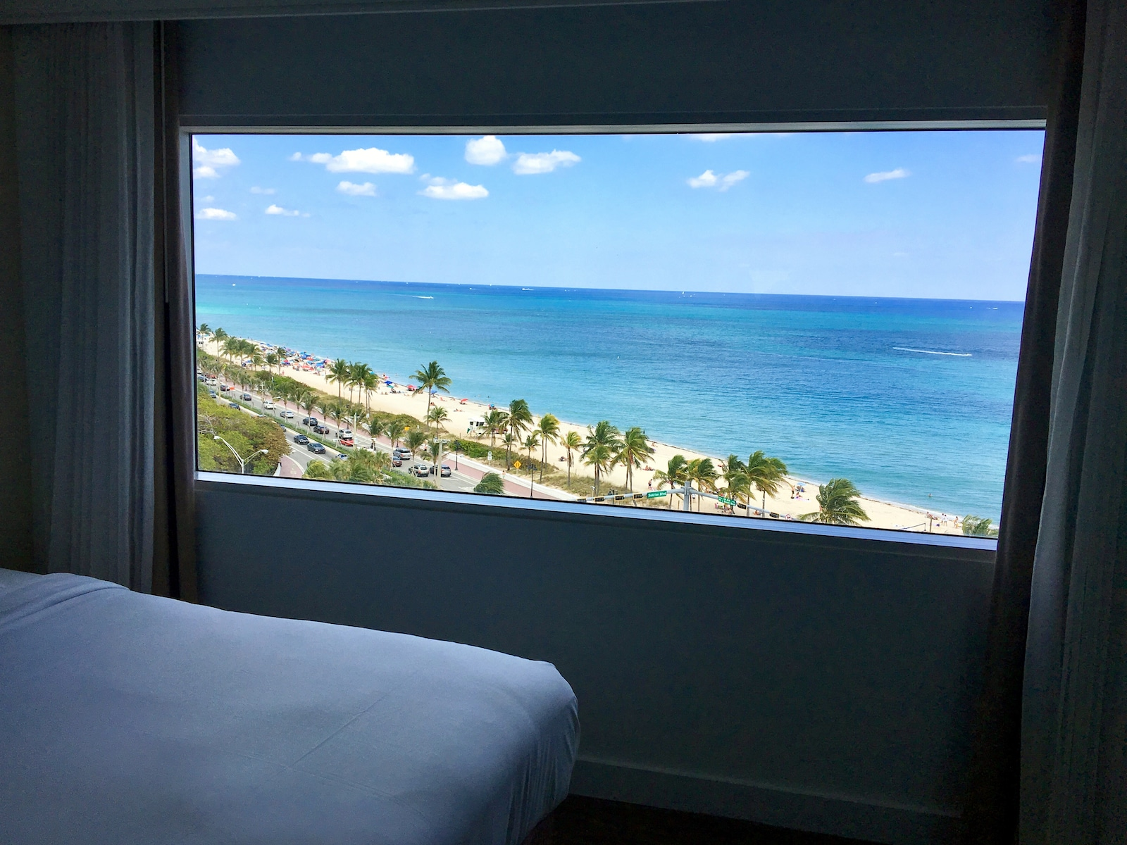 Central Beach in Fort Lauderdale, Florida