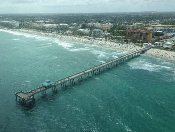 Deerfield Beach in Fort Lauderdale, Florida