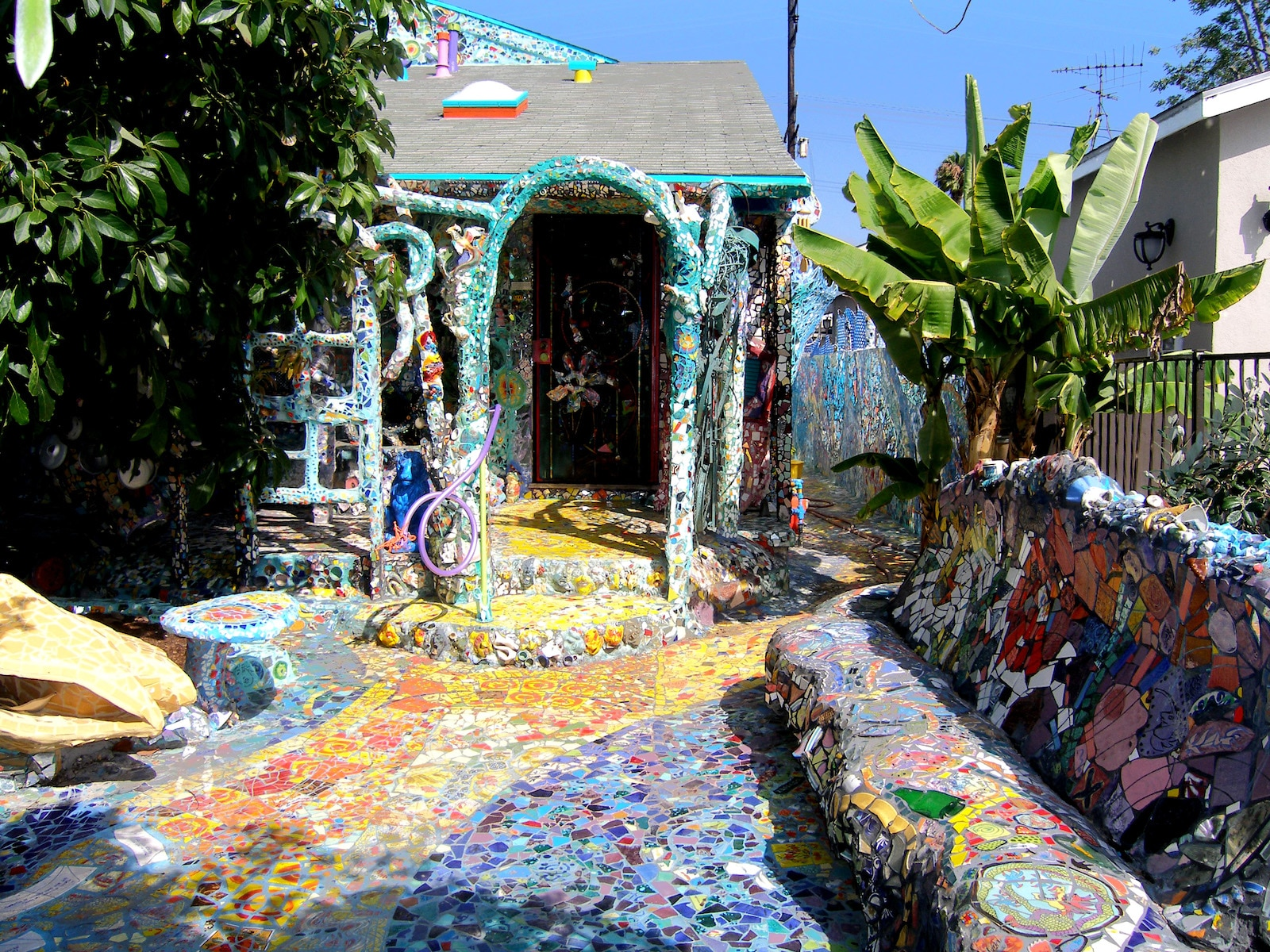 Mosaic Tile House Venice, California