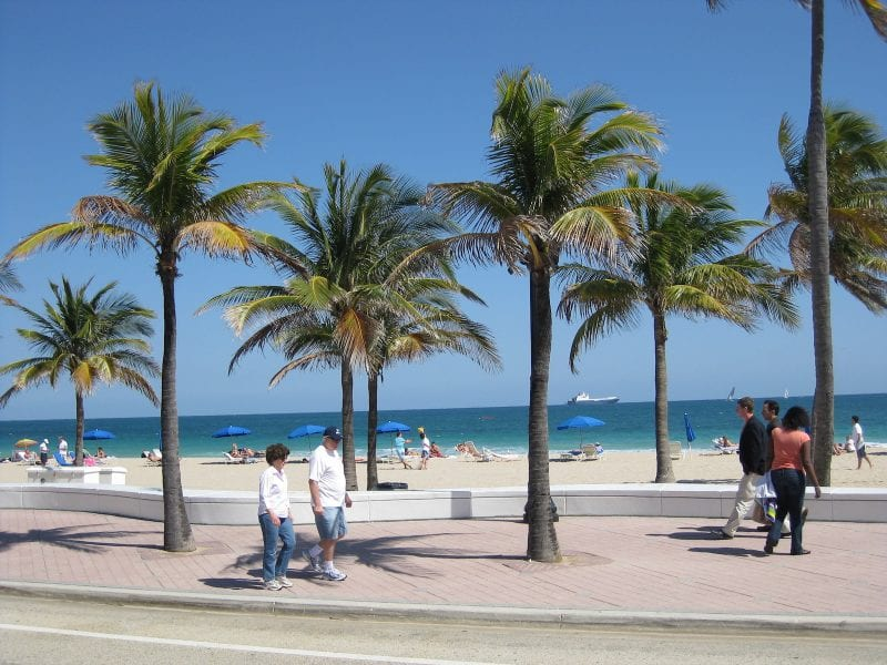 South Beach in Fort Lauderdale, Florida