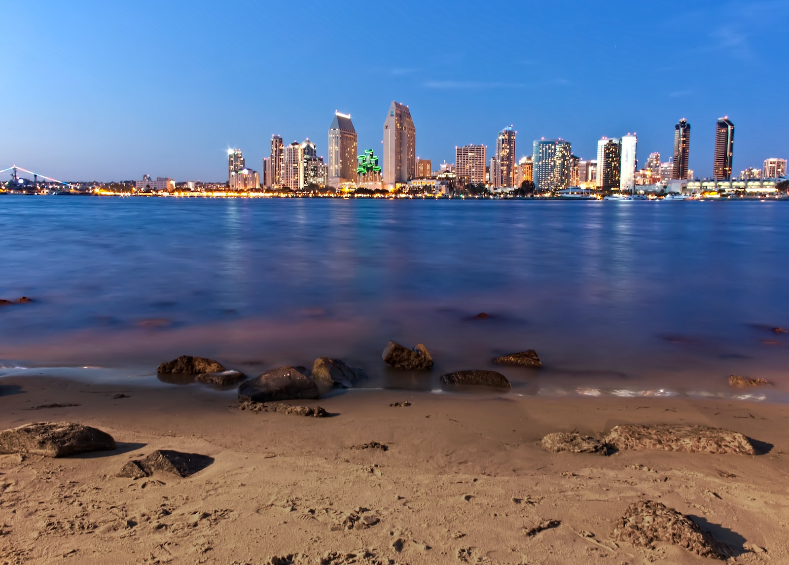 Coronado Beach California San Diego Skyline