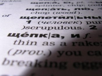 Russian to English Language Dictionary