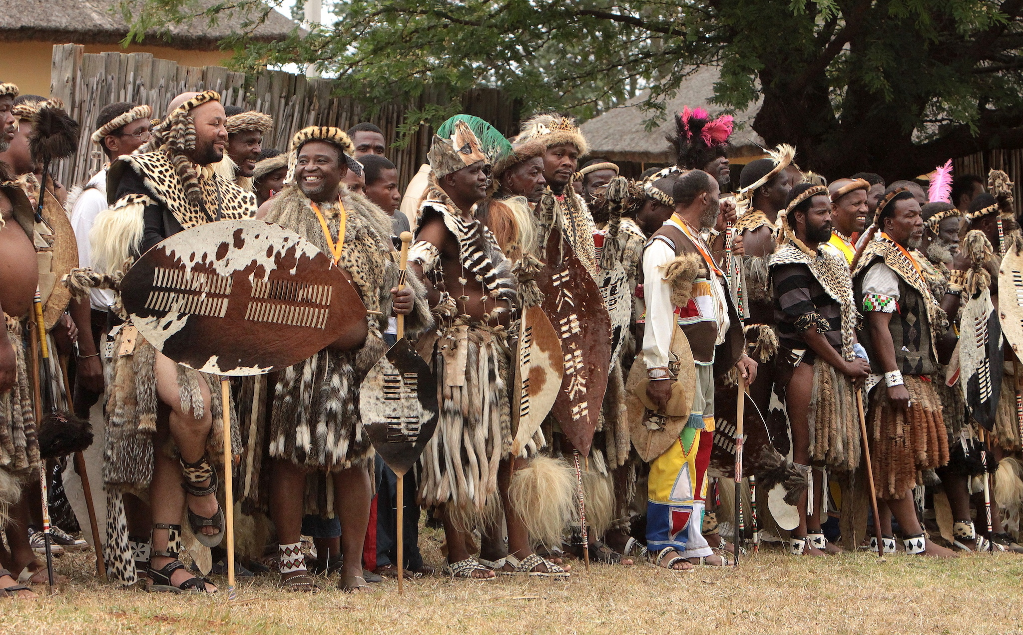 South Africa Zulu Tribe Reed Dance Ceremony