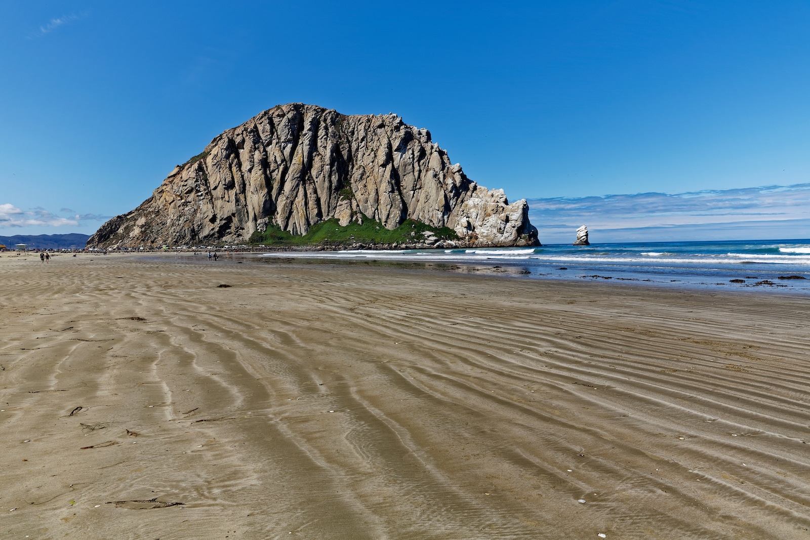 Morro Rock Beach, California