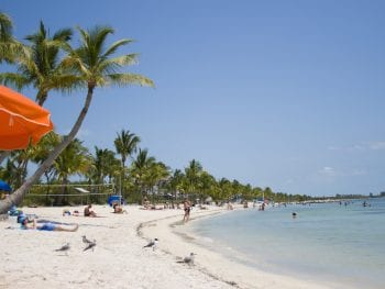 Smathers Beach, Key West, Florida