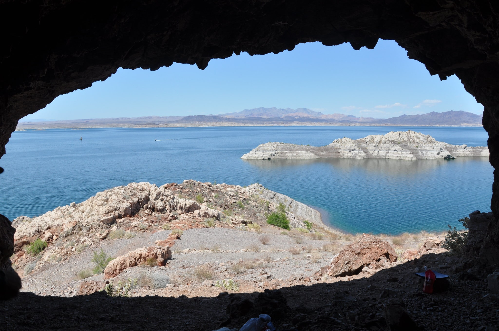 Image of Lake Mead in Nevada, home to Rogers spring