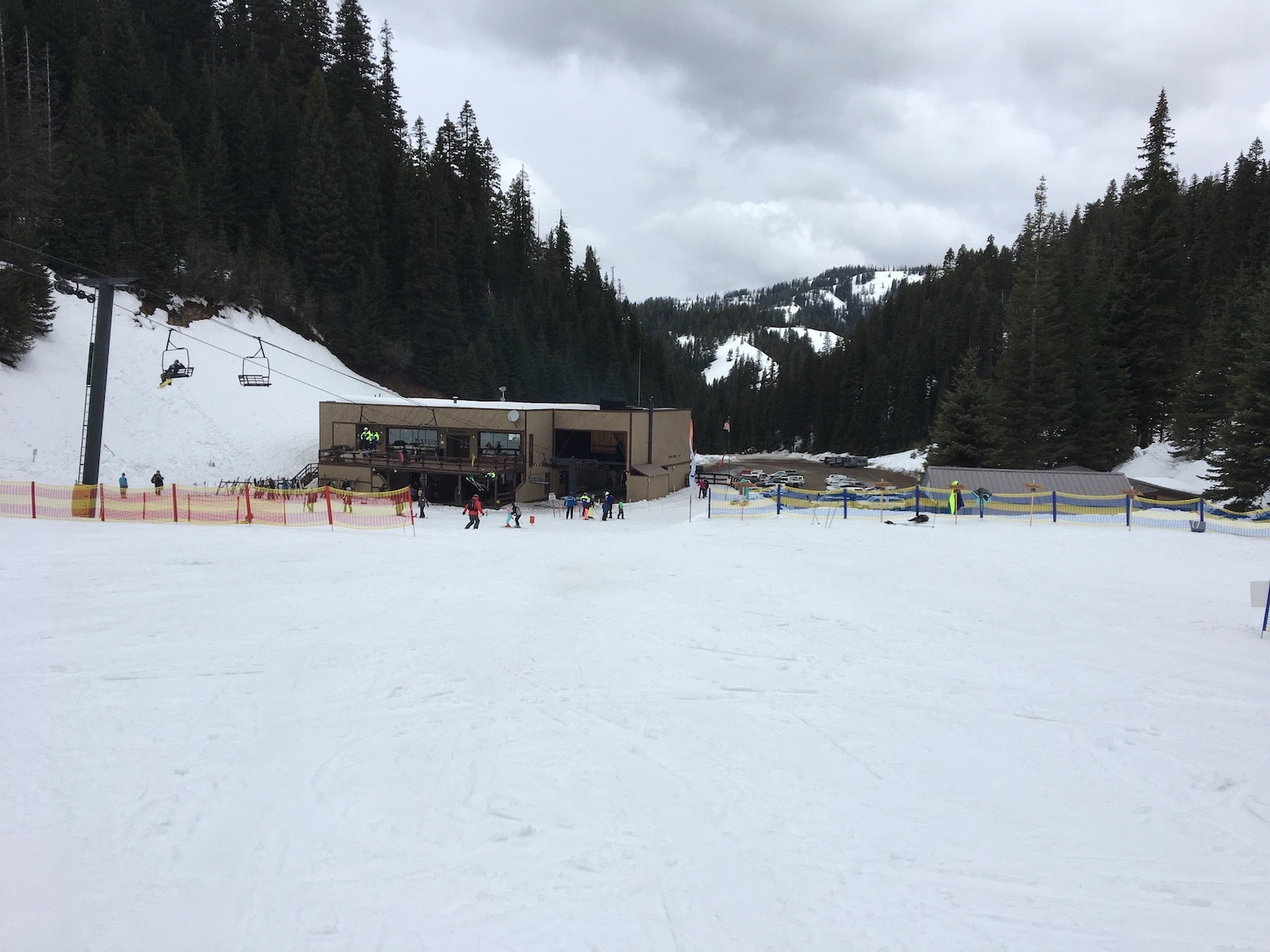 Ski Bluewood Base Lodge WA
