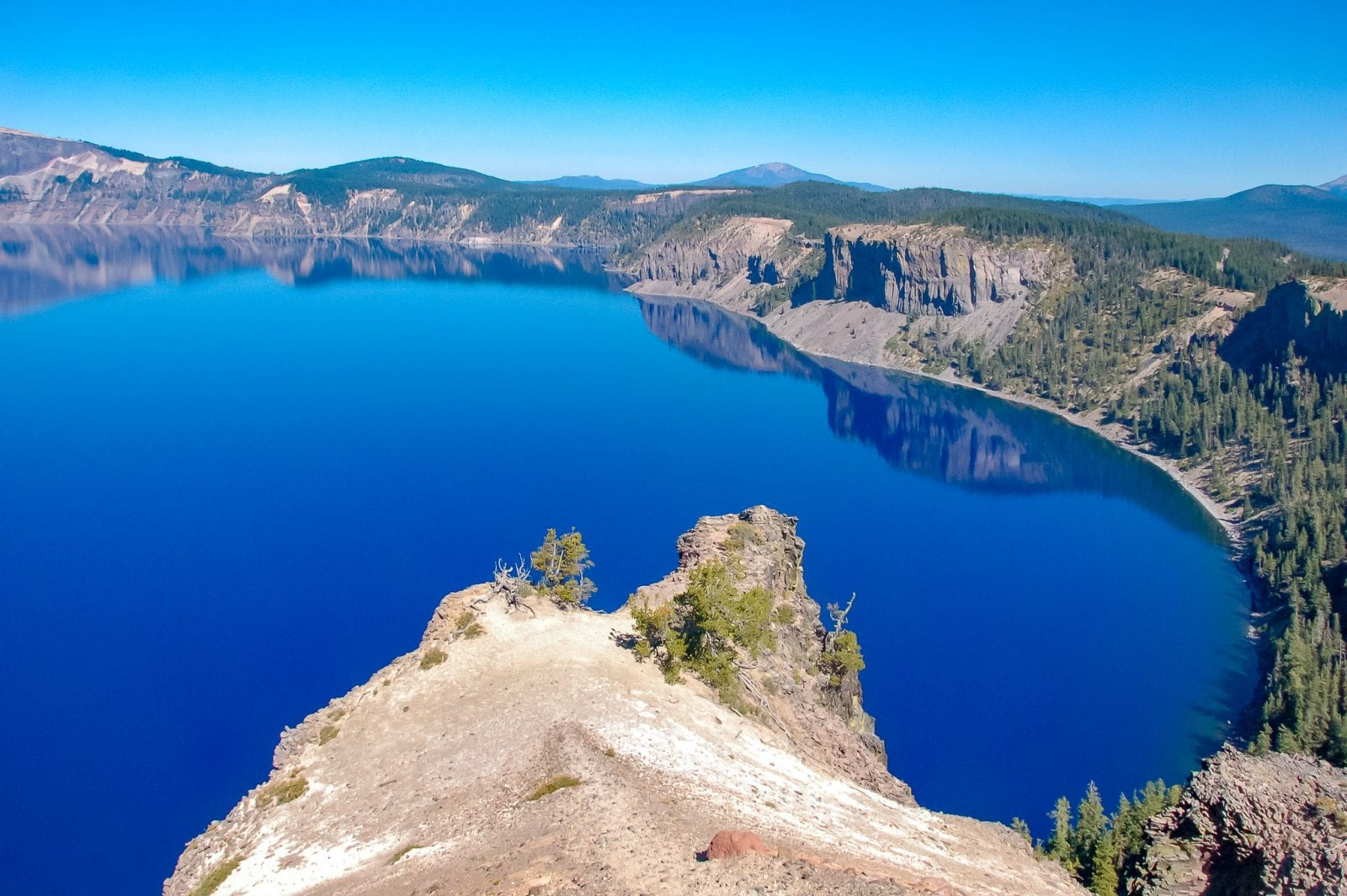 Crater Lake from above